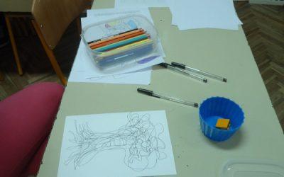 Fotografije s radionice crtanja fraktala